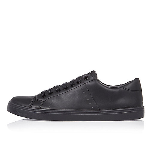 Black tonal trainers