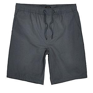 Grey casual shorts