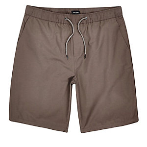 Light brown casual shorts
