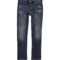 Spencer – Blaue Vintage-Jeans mit geradem Schnitt