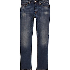 Blue Spencer straight leg vintage jeans