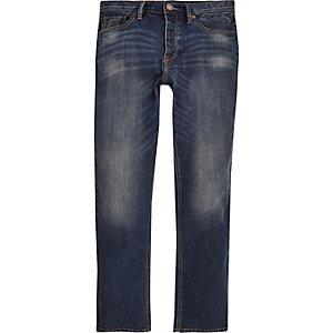 Jean vintage droit Spencer bleu