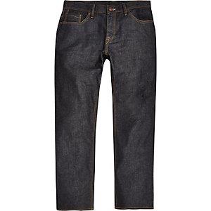 Spencer – Dunkelblaue Vintage-Jeans mit geradem Schnitt