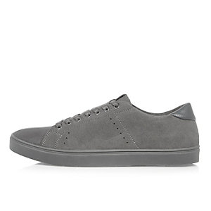 Grey tonal trainers