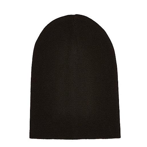 Bonnet souple noir