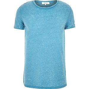 Light blue marl t-shirt