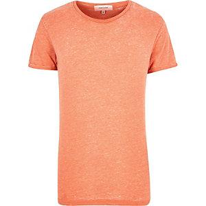 Orange marl t-shirt