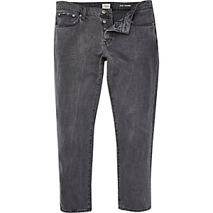 Grey Jimmy slim tapered jeans