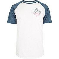 White print T-shirt