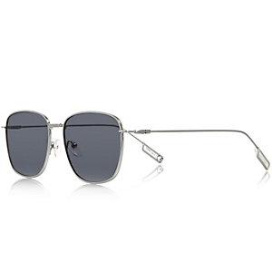 Silver tone tinted sunglasses