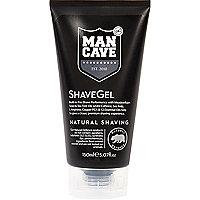 Black Mancave shave gel 150ml