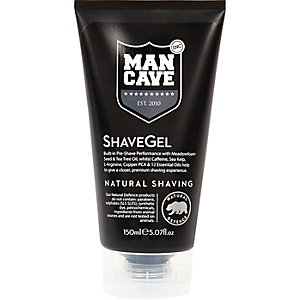 Black Mancave shave gel 150ml