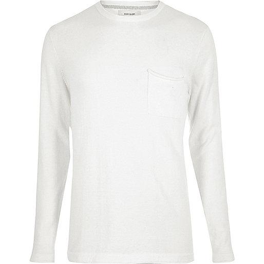 Ecru cotton tunic