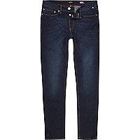Dark blue wash Sid skinny jeans