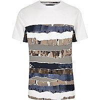 White paint T-shirt
