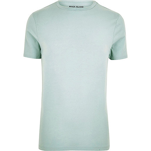 Mint muscle fit T-shirt