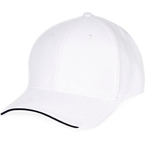 White tipped cap