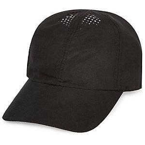 Black perforated cap