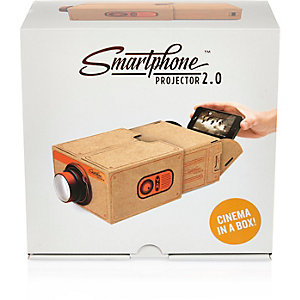 Black copper phone projector
