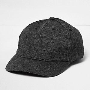 Charcoal jersey cap