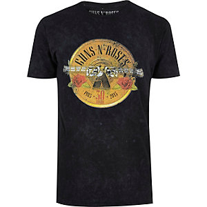 Black Guns N' Roses band T-shirt