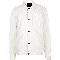 White ADPT denim jacket
