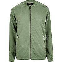 Green ADPT sweater cardigan