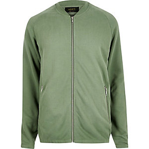 Green ADPT sweater cardigan