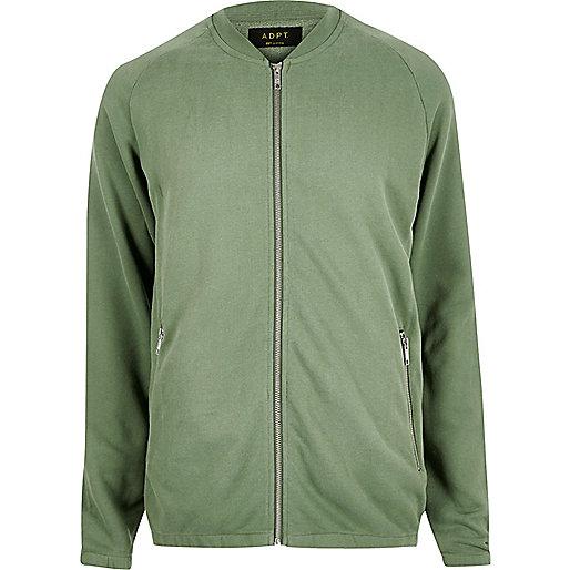 Cardigan sweat ADPT vert
