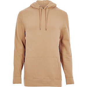 Camel cotton hoodie