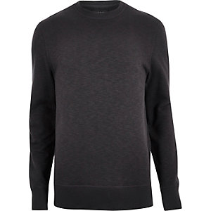 Black marl sweatshirt
