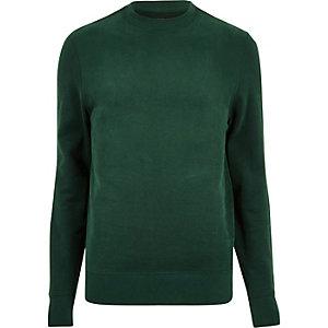 Green crew neck sweatshirt
