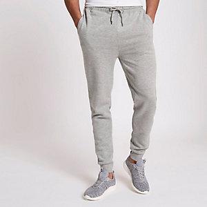 Pantalon de jogging gris chiné