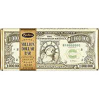 White $1 million chocolate bar 57g