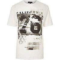White California print T-shirt