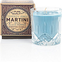 Blue martini candle 195g