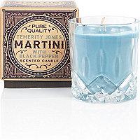 Blue martini candle 195g