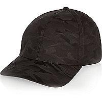 Casquette camouflage noire
