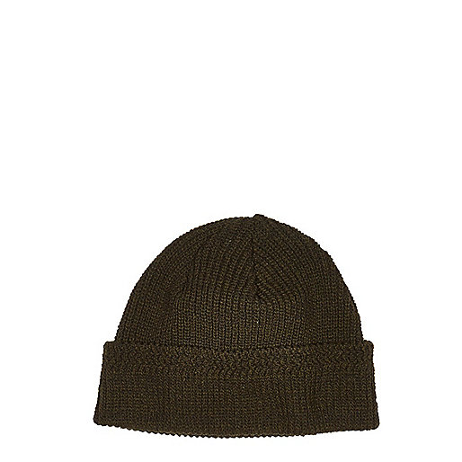 Dark green docker beanie