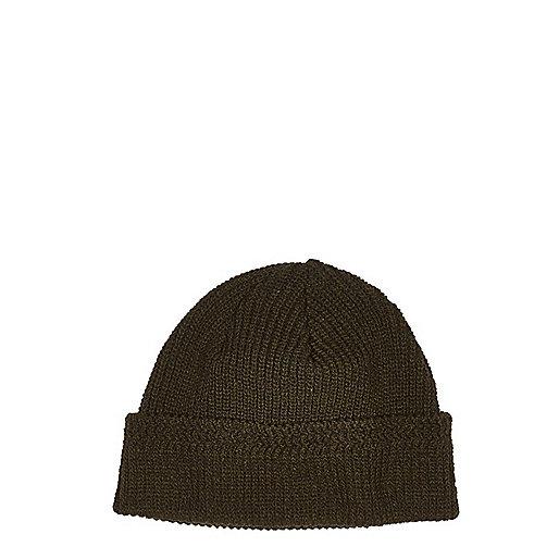 Dark green docker beanie hat
