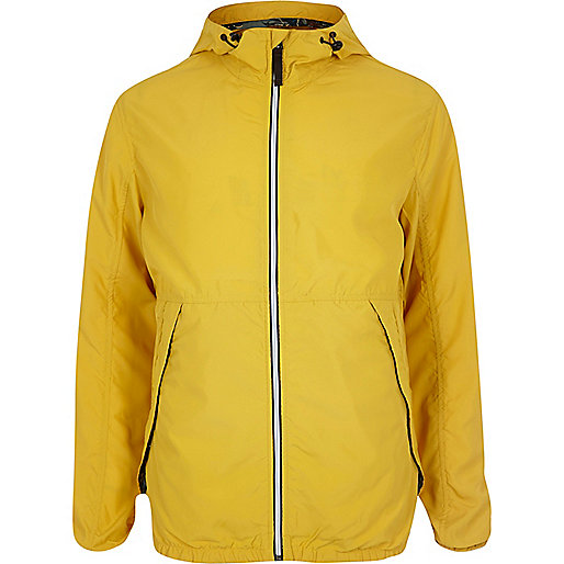 Yellow Jack & Jones Vintage nylon jacket