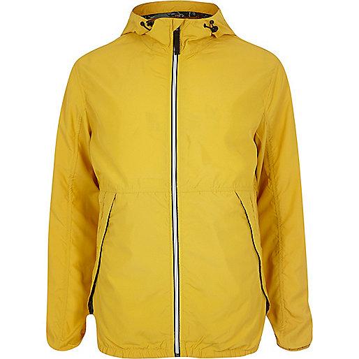 Veste en nylon Jack & Jones Vintage jaune