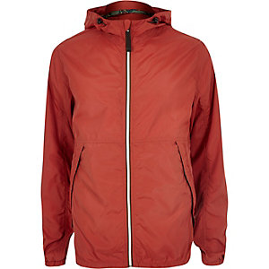 Red Jack & Jones Vintage nylon jacket