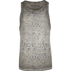 Grey Jack & Jones Vintage vest