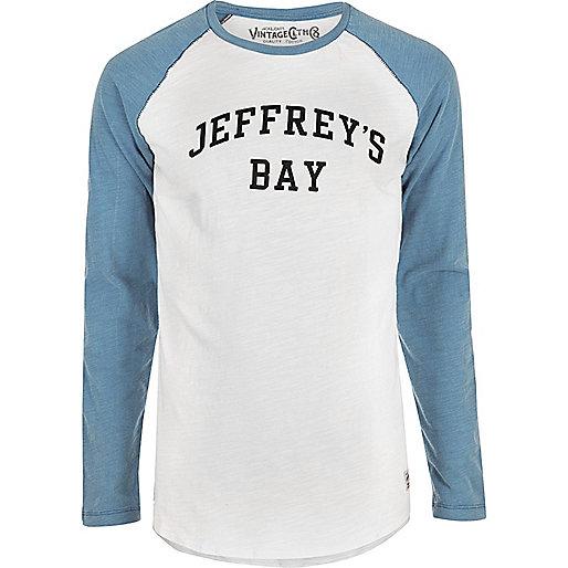 Jack & Jones Vintage – Blaues T-Shirt