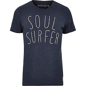 Navy Jack & Jones Vintage Soul Surfer T-shirt