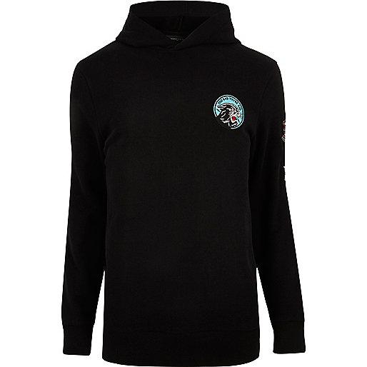 Black badge hoodie