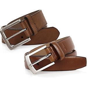 Brown smart belts pack