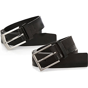 Black smart belts pack
