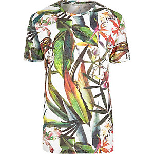 Green Only & Sons print T-shirt